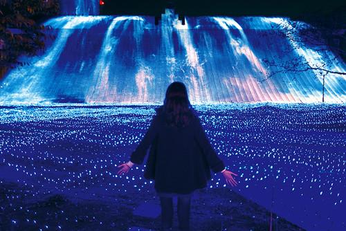 光の王国_光の滝・ブルーウェーブ