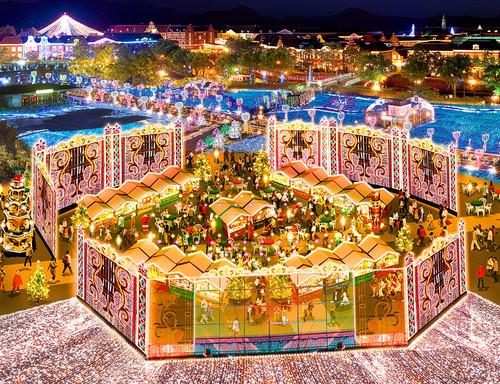 光のクリスマスマーケット