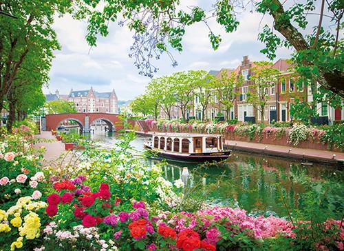 バラの運河
