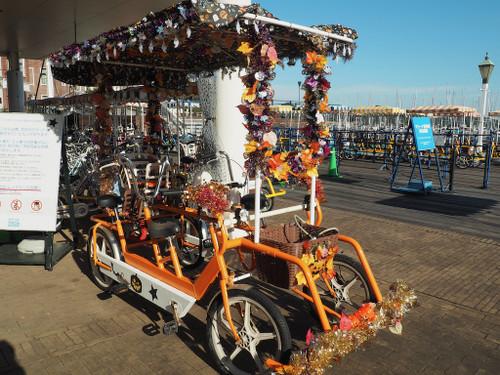 ハロウィーン自転車